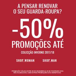 Promoção de Quebramar no folheto de Coimbra