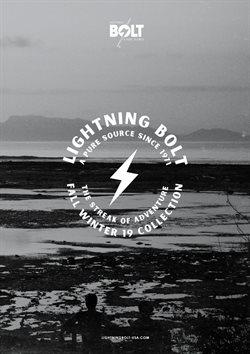 Promoção de Lightning Bolt no folheto de Lisboa