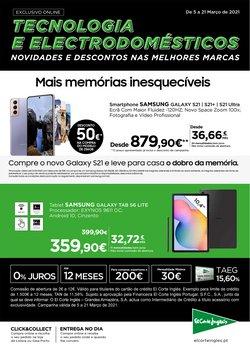 Ofertas Informática e eletrónica no folheto El Corte Inglés em Braga ( Publicado há 2 dias )