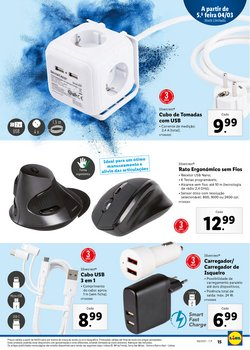 Promoções de USB em Lidl