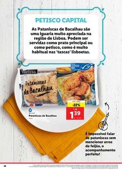 Promoções de Bacalhau em Lidl