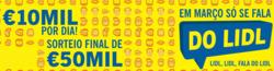 Promoção de Lidl no folheto de Vila Nova de Gaia