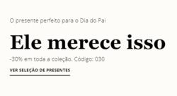 Promoção de Cortefiel no folheto de Lisboa