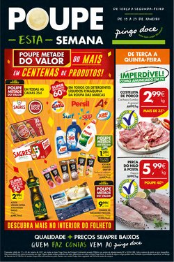 Folheto Pingo Doce ( 3 dias mais )