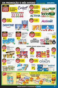 Ofertas de Danone no folheto Pingo Doce (  Expira amanhã)