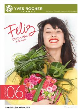 Promoção de Yves Rocher no folheto de Lisboa