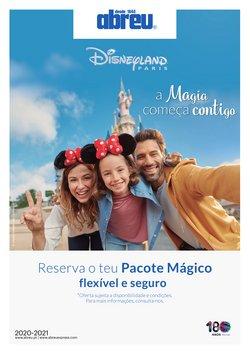 Ofertas Viagens no folheto Abreu ( Mais de um mês )