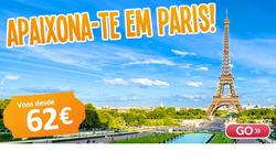 Promoção de GoVolo no folheto de Lisboa