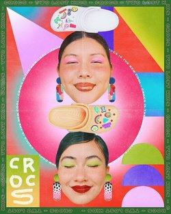 Ofertas de Crocs no folheto Crocs (  18 dias mais)