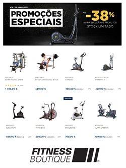 Ofertas Desporto no folheto Fitnessboutique em Porto ( 6 dias mais )