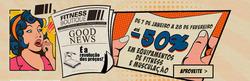Promoção de Fitnessboutique no folheto de Lisboa