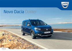 Promoção de Automóveis no folheto de Dacia em Funchal