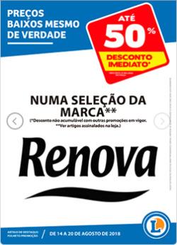 Promoção de E.Leclerc no folheto de Chaves