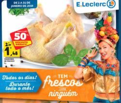 Promoção de E.Leclerc no folheto de Portalegre