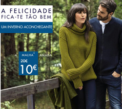 Promoção de Kiabi no folheto de Évora