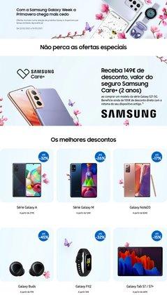 Ofertas Informática e eletrónica no folheto Samsung em Braga ( 3 dias mais )