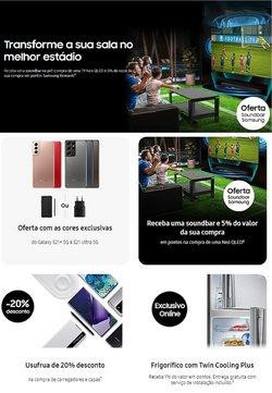 Ofertas de Samsung no folheto Samsung (  8 dias mais)