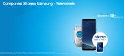 Promoção de Samsung no folheto de Coimbra