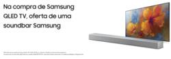 Promoção de Samsung no folheto de Alcabideche