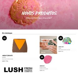Ofertas Perfumarias e beleza no folheto Lush em Braga ( Publicado hoje )