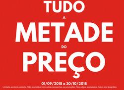 Promoção de béllissima no folheto de Porto