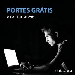 Promoção de Mbit no folheto de Vila Nova de Gaia