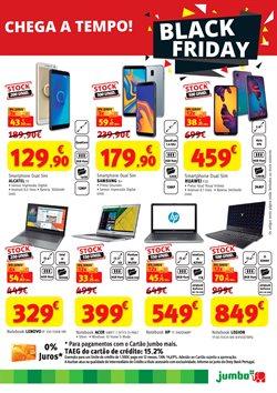 Promoção de Santarém Retail Park no folheto de Box Jumbo em Santarém