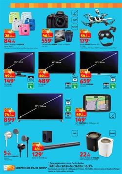 Promoção de Smart TV no folheto de Box Jumbo em Alcabideche