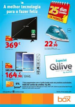 Promoção de Box Jumbo no folheto de Alcabideche