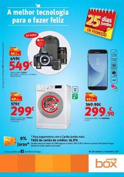 Promoção de Informática no folheto de Box Jumbo em Alcabideche