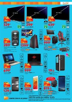 Promoção de Lenovo no folheto de Box Jumbo em Alcabideche