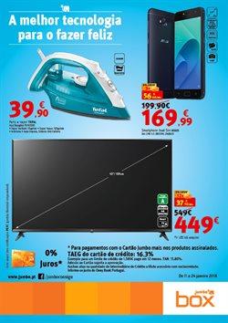 Promoção de Smartphones no folheto de Box Jumbo em Lisboa