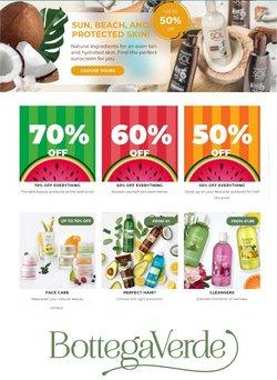 Ofertas de Bottega Verde no folheto Bottega Verde (  18 dias mais)