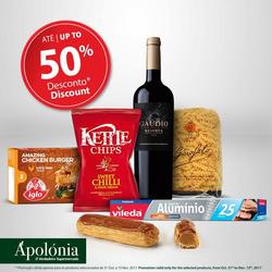 Promoção de Apolónia no folheto de Albufeira