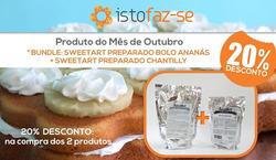Promoção de Istofaz-se no folheto de Lisboa