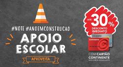 Promoção de Livros e lazer no folheto de Note! em Bragança