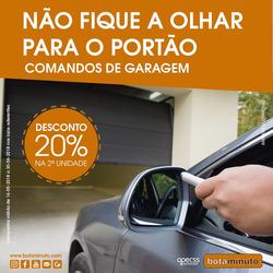 Promoção de Bancos e serviços no folheto de Bota Minuto em Alcobaça