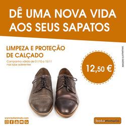 Promoção de Bota Minuto no folheto de Lisboa