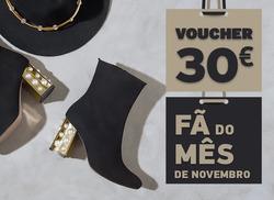 Promoção de Calçado Sameiro no folheto de Barcelos
