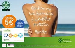 Promoção de Farmácias Portuguesas no folheto de Lisboa