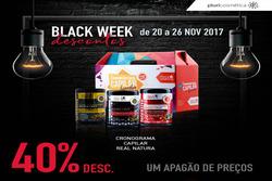 Promoção de Pluricosmética no folheto de Porto