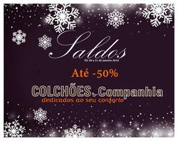 Promoção de Colchões & Companhia no folheto de Loures