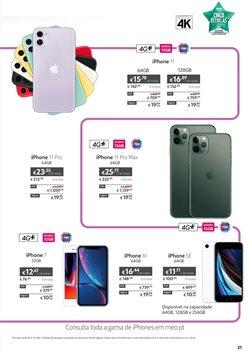 Promoções de IPhone 11 em MEO