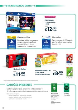 Promoções de Nintendo em MEO