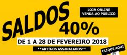Promoção de Maiorista no folheto de Lisboa