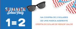 Promoção de Perfumaria Barreiros Faria no folheto de Guimarães