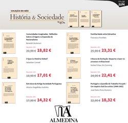 Ofertas de Livros e lazer no folheto Almedina (  Publicado ontem)