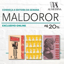 Ofertas de Livrarias, Papelaria e Hobbies no folheto Almedina (  Expira hoje)
