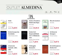 Ofertas de Livrarias, Papelaria e Hobbies no folheto Almedina (  3 dias mais)
