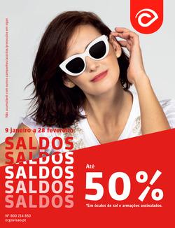 Promoção de Óticas e centros auditivos no folheto de Ergovisão em Vila Real